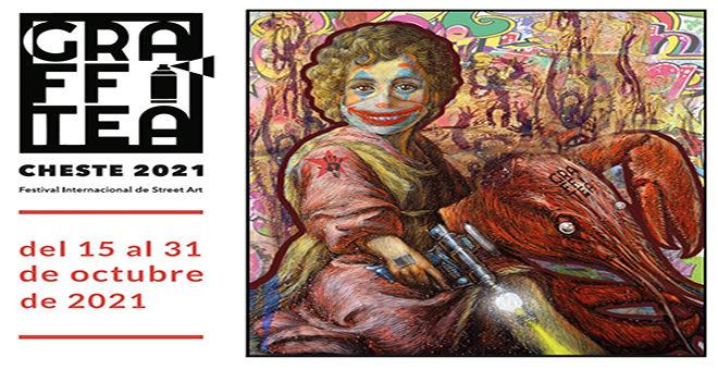 La 6ª edición de Graffitea Cheste se presenta en el IVAM